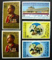 Irak Iraq 1969 Revolution Flughafen Airport Präsident Airport 562-65 A B MNH