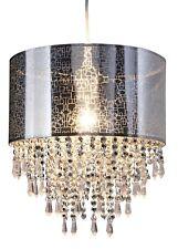 Naeve Leuchten ciondolo luce con gioielli acrilico Ø 30 cm/L 120 cm