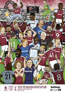 West Ham United v Spurs Tottenham Hotspur - FA Premier League - 24 October 2021