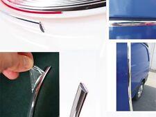 35mm x 5m Chrome Self Adhesive Car Detail Edging Styling Moulding Trim Strip