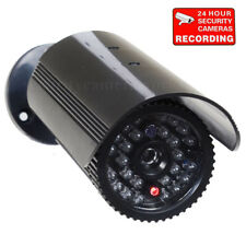 Bullet Dummy Security Camera Fake Ir Leds Flashing Light Cctv Surveillance bzx