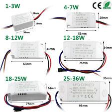 3W 5W 10W 18W 20W 24W 36W LED driver Trafo 300mA Treiber Transformator Netzteil
