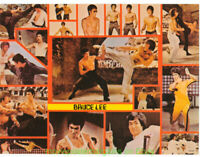 BRUCE LEE POSTER 1974 Original Vintage OSP MOVIE POSTER 8x12 Inch Thick Card # 2