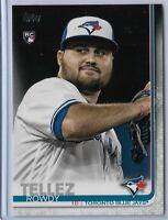 2019 Topps Series 2 Baseball Short Print Variation Rowdy Tellez #556 RC Toronto