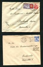Schweiz -  10 Belege ab 1937 , Lot 4   (SB-1)