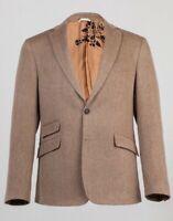 Billy Reid 190974 Mens Brown Loring Notch Two Button Blazer Jacket Size 44R