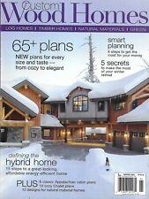 Custom Wood Homes Magazine Log Timber Natural Materials Over 65 Plans 2009