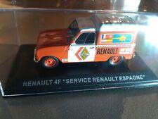 ALTAYA 1/43 - RENAULT 4F SERVICE RENAULT ESPAGNE (012)