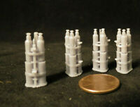 1/32 High-Resolution 3D Printed Resin WWII US AN-M40 Parafrag CLUSTER Bomb QTY 4