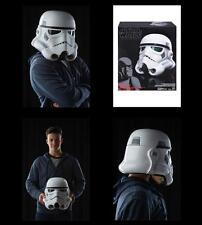-= ]HASBRO-Star Wars RO Black Se.Electronic Voice Change Helmet Stormtrooper[ =-