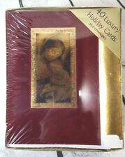 Image Arts 40 Luxury Holiday Cards Baby Jesus Christ Nazareth Mary