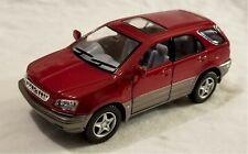 Kinsmart - 1:36 Scale Model Lexus RX300 Red (BBKT5040DR)