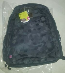 BNWT RUK BUG Rucksack Baby Changing Bag for working parents Camo Black
