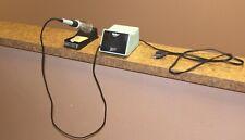 Weller Pu120t Power Unit Tc201t Pencil Amp Solder Holder Tested Good