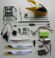 Ersatzteile RC Helikopter XiongXing  D9025 u. ACME Zoopa 350 Brushless