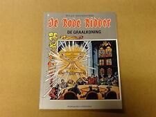 STRIP / DE RODE RIDDER 156: DE GRAALKONING   1ste druk