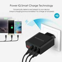 Universal 3-Port USB 5V 3A Wall Travel Quick Charger Adapter US/EU Plug Charging