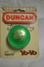 YO-YO DUNCAN IMPERIAL GREEN  NEW IN ORIGINAL PACKAGE  1997