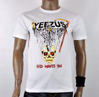Yeezus Tour Gildan T-Shirt Kanye West Grim Reaper halloween