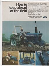 """Original 1979 Ford 3600 Tractor Magazine Ad """"How To Keep Ahead Of The Field"""""""