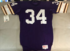 NWT 1989 Minnesota Vikings Authentic Team Issued Hershel Walker Jersey Size 40