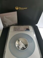 2016-P AUSTRALIA 5 OZ SILVER PROOF WEDGE TAILED EAGLE HR PF70 MERCANTI SIGNED