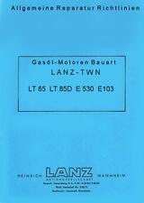 Reparaturanleitung CD-Rom für TWN Motor im LANZ Bulli D1106 und LANZ D1206