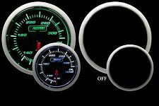 OIL TEMPERATURE Gauge Prosport Performance Series -Green & White 52mm NEW