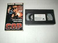 COP JAMES WOODS, LESLEY ANN WARREN, CHARLES DURNING 1992 VHS RARE HTF OOP