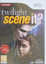 Jeu Wii Konami Twilight Scene it ? Nintendo / Inclus un mini poster