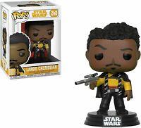 Funko Pop Star Wars Lando Calrissian New Vinyl Bobble Head Collectable Figure