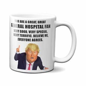 PRESIDENT DONALD TRUMP GENERAL HOSPITAL COFFEE MUG