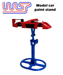 WASP - 3D printed Slot car & Model car paint stand and mini stand