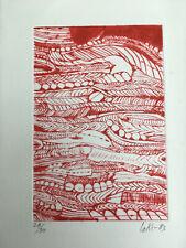 Gravure Victor LAKS (1924-2011) Lithographie 1983 Atelier Emile-Othon Friesz