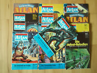 Atlan - Konvolut 13 Science Fiction-Romanhefte der Perry Rhodan Sonderreihe