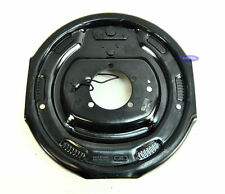 """Utility Trailer Electric Drum Brake Cluster Backing Plate 12"""" x 2"""" Shoe (1 Pair)"""