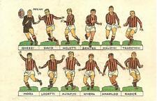 MILAN Calcio...Ghezzi, Maldini, Trappattoni, Altafini, Rivera, Mora  - anni '60