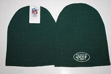 NEW YORK JETS NFL TEAM APPAREL CUFFLESS KNIT WINTER HAT/BEANIE/TOQUE