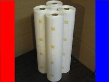 16 4x3 Zebra Direct Thermal Rolls 500/8,000 Labels