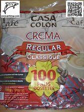 "PROMO 200 dosettes café senseo: classique ""CASA COLON"" LIV M.RELAY GRATUITE #053"