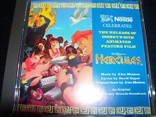 Hercules Rare Print Walt Disney Soundtrack Promo CD – Like New