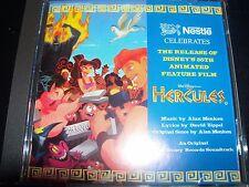 Hercules Rare Print Walt Disney Soundtrack Promo CD – Like New