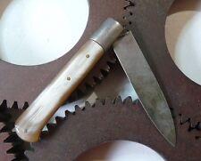 Couteau de poche ancien French vintage Horn Pocket Knife