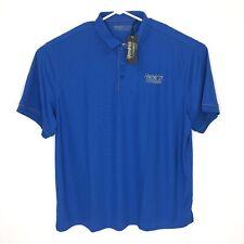 Hendrick Mens 3XL Automotive Group Nascar Polo Shirt Blue H