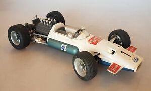 Schuco 1075 Brabham-Ford F1 Rennwagen Modellauto mit Uhrwerk