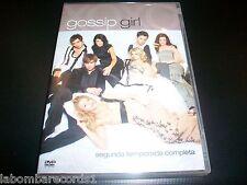GOSSIP GIRL - TEMPORADA 2 - DVD NUEVO - SERIE TV - EN CASTELLANO