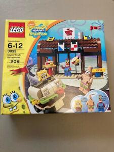 Spongebob Squarepants Lego Krusty Krab Adventures Complete 3833 Brand New