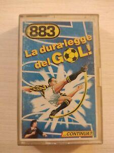 Mc musicassetta 883 La dura legge del gol MAX PEZZALI prima edizione ACCETTABILE