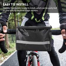 Waterproof Cycling Equipment Bicycle Bike Handlebar Bag Front Tube Basket Pouch