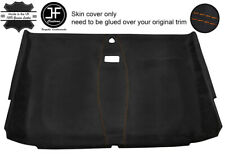 TAN STICH FRONT ROOF HEADLINING PU SUEDE COVER FOR LAND ROVER DEFENDER 110 SW